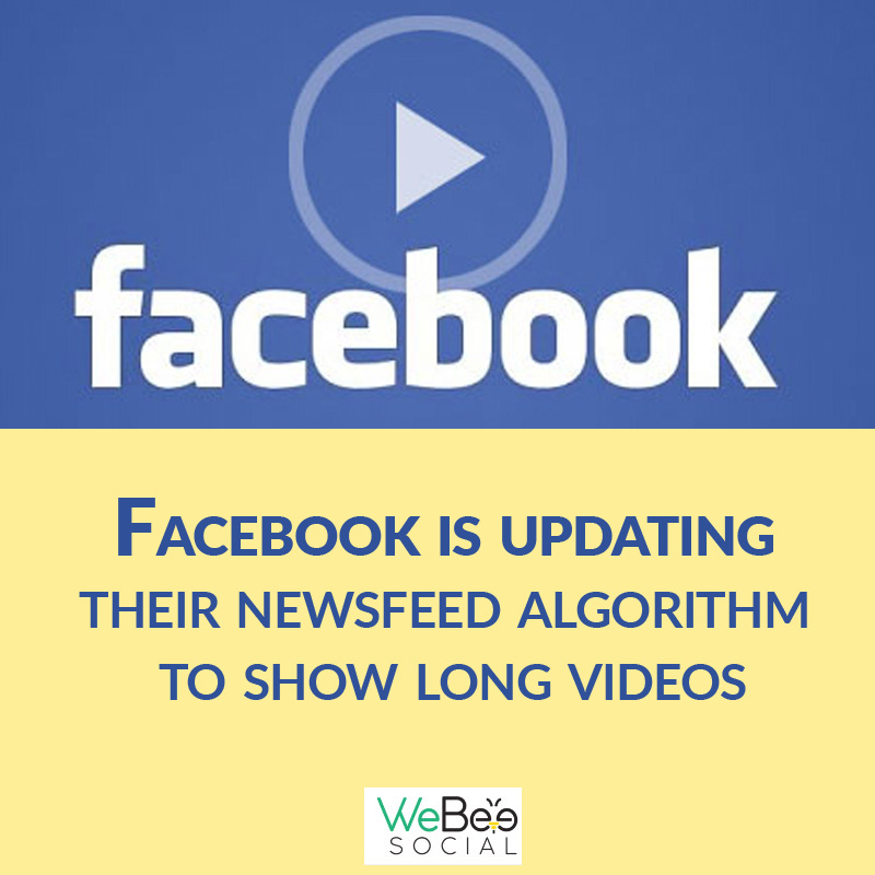 facebook updating newsfeed algorithm webeesocial