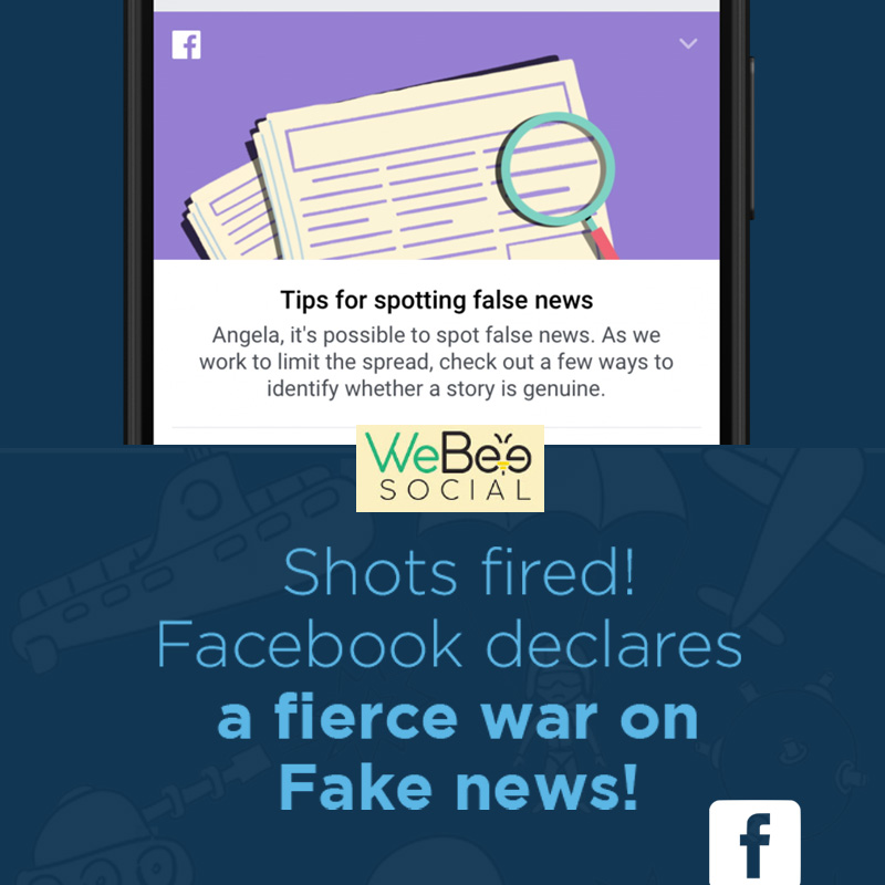 webeesocial facebook fake bews posts