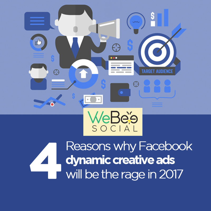 webeesocial facebook dynamic creative ads