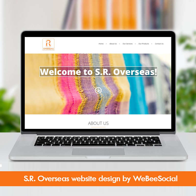 SR-Overseas-WeBeeSocial-Website-Design-Delhi-Digital-Agency-Creative